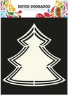 470.713.117 Dutch DoobadooShape Art Frames X-mas Tree