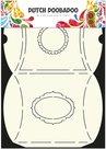 470.713.006 Card Art Pillowbox Dutch Doobadoo