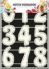 470.455.003 Dutch Doobadoo stencil cijfers