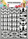472.948.013 Dutch Paper Art Veren