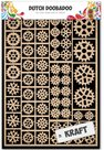 479.002.001 Dutch Craft Art Kraftpapier Gears A5
