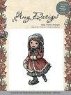 ADST10005 Amy Design Cling stempel skating girl