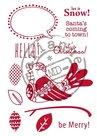 EC0155 Clear stamp Eline Scandinavian Bird