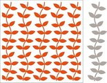 DF3414 Embossing folder extra Leaves