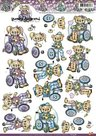 CD10368 knipvel Yvonne Creations rolstoel