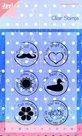 6410-0019 Clear stempel set Noor! dat zit wel (snor)