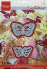 LR0357 Creatables snijmal Tinys butterflies 2