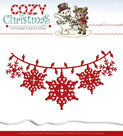 YCD10036 Snijmal Yvonne Creations Cozy Christmas Christmas Lights