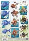 CD10538 Knipvel Amy Design Tropical Fish