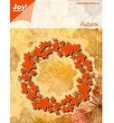 6002-0457 Noor! snijmal klimop-krans Autumn