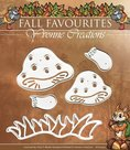 YCD10032 Snijmal Yvonne Creations Fall Favourites Toadstool