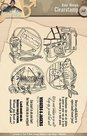 ADCS10001 Clear stamp Amy Design It's a Man's World