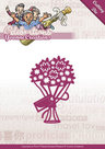 YCD10047 Snijmal Yvonne Creations Celebrations Bouquet