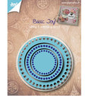 6002-0528  Snijmallen basis rond Joy!Crafts