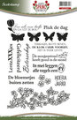 ADCS10004 Clear stempel Spring Design Amy