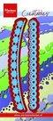 LR0413 Creatables snijmallen Hearts and Cotton Lace Marianne Design