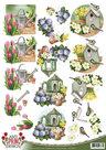 CD10607 Kniipvel Amy Design Spring Garden