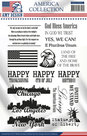 USACS10001 Clear stamp America Collection Amy Design