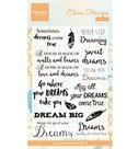 CS0975 Stempels - clear stamps Dreams Marianne Design