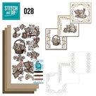 STDO028 Borduurset Stitch and Do 28 - Brown Cats