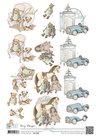 CD10683 Knipvel Vintage Baby Toys Amy Design