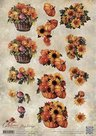 CD10755 3D Knipvel - Amy Design - Autumn Moments - Herfstbloemen