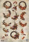CD10754 3D Knipvel - Amy Design - Autumn Moments - Herfstkransen