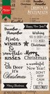 CS0980 Clear Stamp christmas sentiments Marianne Design