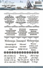 ADCS10012 Clearstamp Wintertide tekst Amy Design