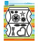 CR1386 Craftables snijmal Pillowbox Marianne Design
