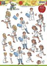 CD10569 3D Knipvel - Yvonne Creations - Healthcare workers