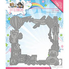 YCD10089 Snijmal Yvonne Creations - Tots and Toddlers - Toy Frame