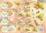 Tie2293 Knipvel herfst Nel van Veen