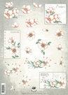 Tie2354 Knipvel bloemen Nel van Veen