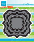 CR1404 Craftables snijmal Classic Square Marianne Design