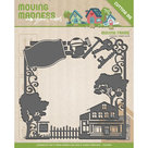 YCD10097 Snijmal Yvonne Creations Moving Madness Frame