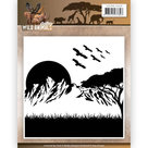 ADEMB10006 Embossingfolder Amy Design Wild Animals