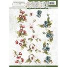 CD10855 3D Knipvel - Precious Marieke - Fantastic Flowers - Poppy