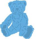 LR0465 Creatables snijmal Tiny's teddybeer