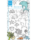 HT1618 Clear stempel Hetty's Fish in the reef