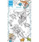 HT1619 Clear stempel Mermaids Marianne Design