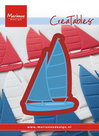 LR0473 Creatables snijmal sailboat