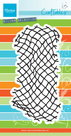 CR1409 Craftables stencil Tiny's fishnet