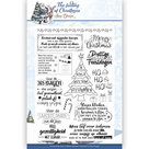 ADCS10018 Clear stempel Amy Design The feeling of Christmas teksten