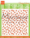 DF3438 Design folder trendy hearts