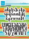 CR1416 Craftables stencil brush alphabet