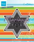 CR1421 Craftables basic Christmas star