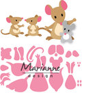 COL1437 Collectables Eline's mice family