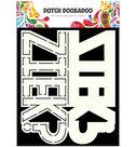 470.713.641 Dutch Doobadoo Card Art Ziek tekst