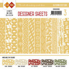 CDDSOK03 Card Deco - Designer Sheets - Autumn Colors-Oker-